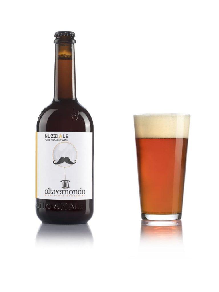 birra nuzziale bottiglia